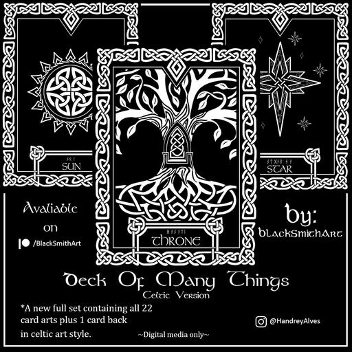 Deck Of Many Things Celtic Version