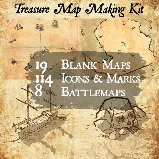 Treasure Map Making Kit