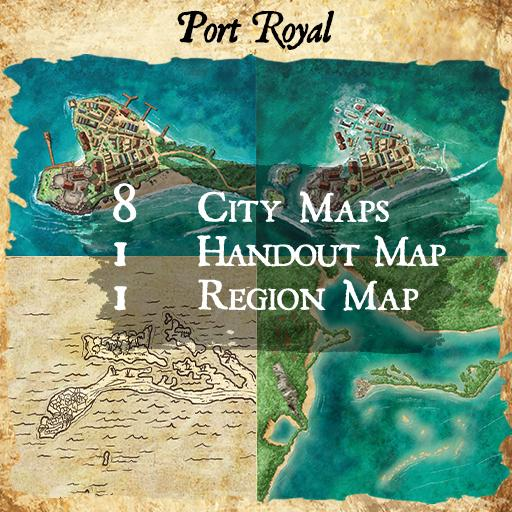 Port Royal City Map