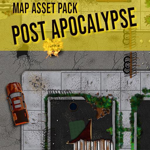 Post Apocalypse - Map Asset Pack