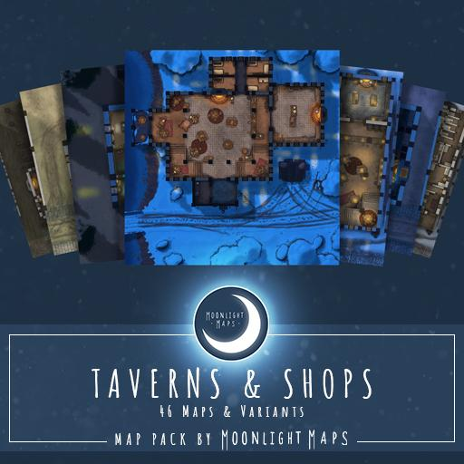 Shops and Taverns