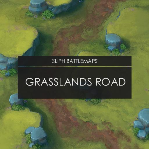Grasslands Road   Battlemap