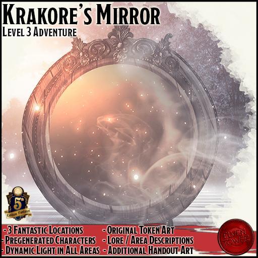 Krakore's Mirror - 5e Level-3 Adventure