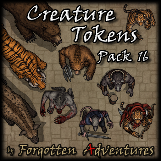 Creature Tokens - Pack 16