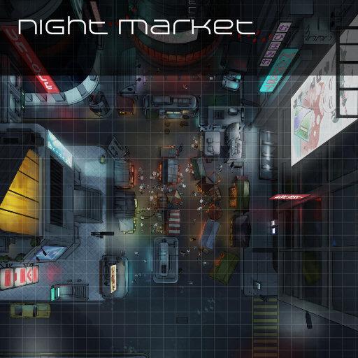 Night Market Street