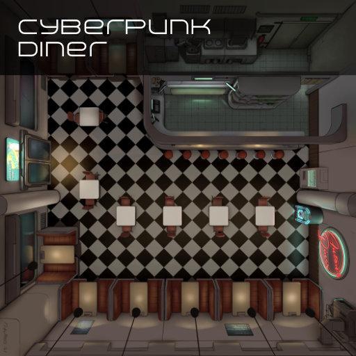 Cyberpunk Diner