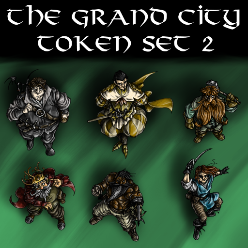 The Grand City Token Set 2