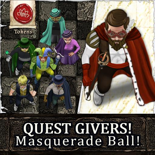 QUEST GIVERS! Masquerade Ball
