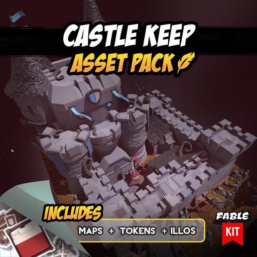 Castle Keep - Asset Pack