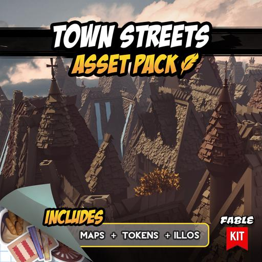 Town Streets - Asset Pack