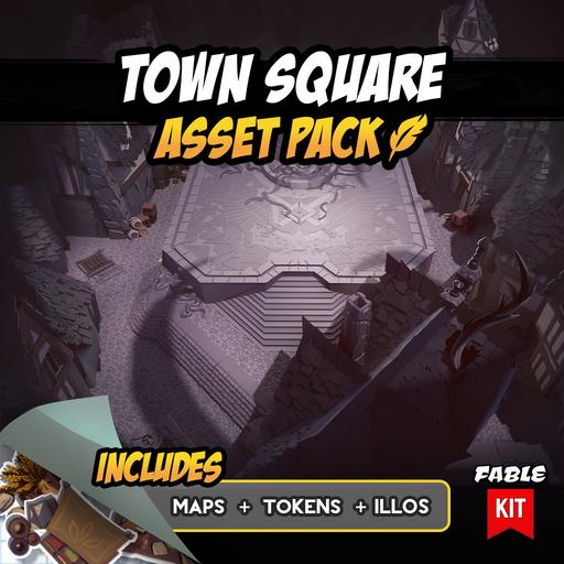 Town Square - Asset Pack