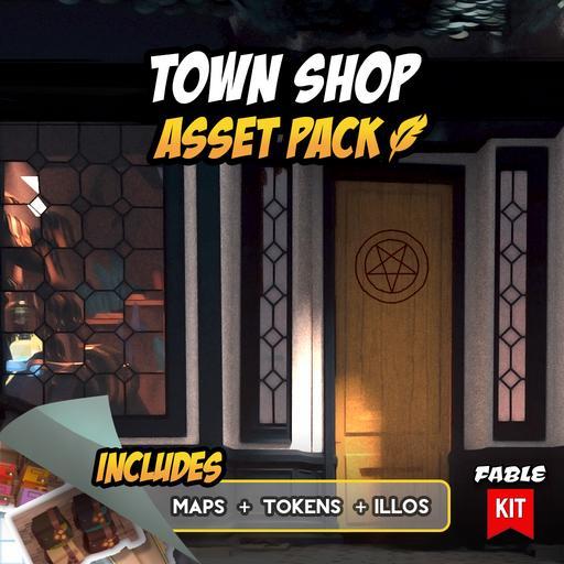 Town Shop - Asset Pack