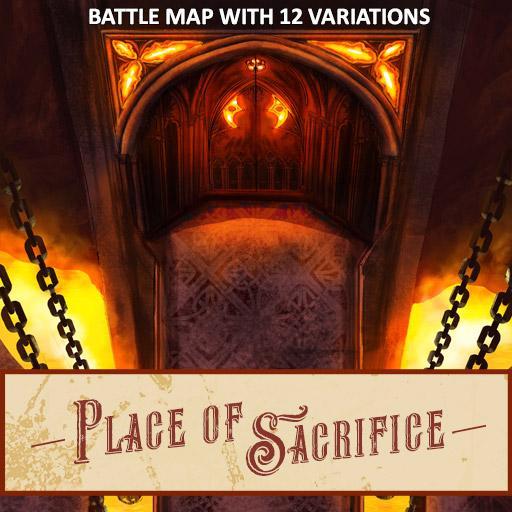 Place of Sacrifice Battle Map