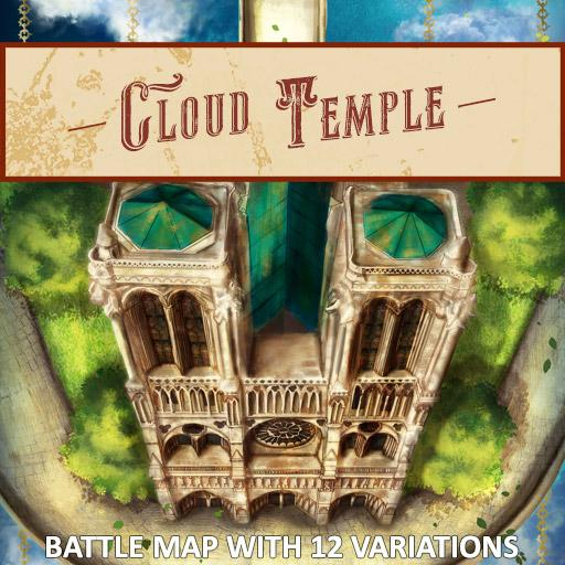 Cloud Temple Battle Map