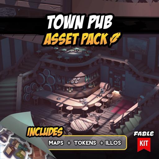 Town Pub - Asset Pack