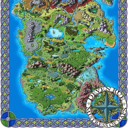 Taur'Syldor Map