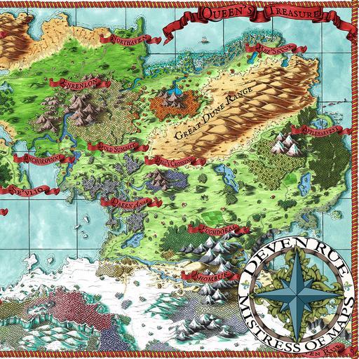 The Queen's Treasure Map