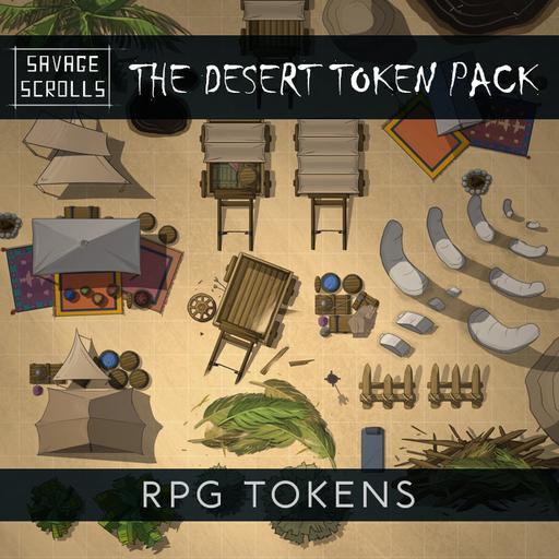 The Desert Tokens