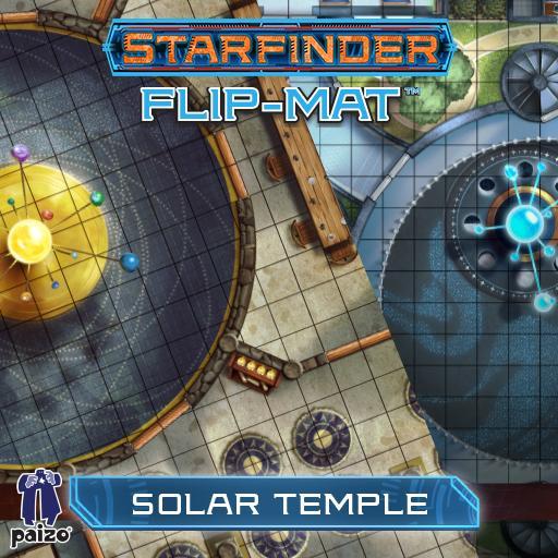 Starfinder Flip-Mat: Solar Temple