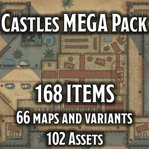 Castles MEGA Pack