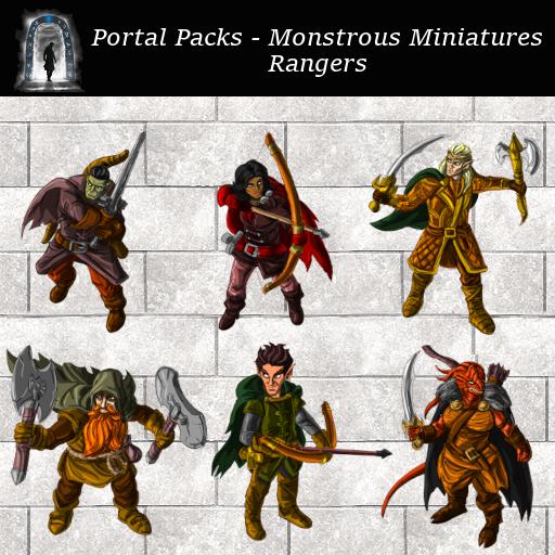 Portal Packs - Monstrous Miniatures  - Rangers