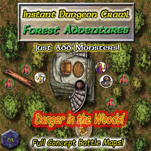 Instant Dungeon Crawl: Forest Adventures