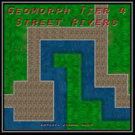 Geomorph Tier 4 Street Rivers