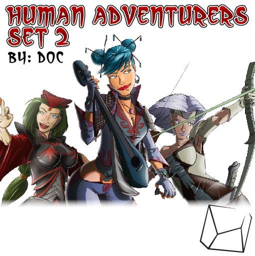 Human Adventurers Set 2