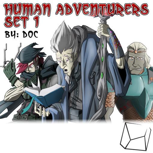 Human Adventurers Set 1
