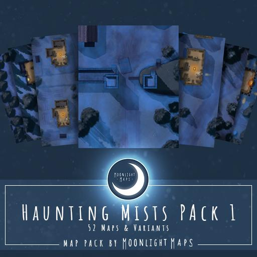 Haunting Mists Pack 1