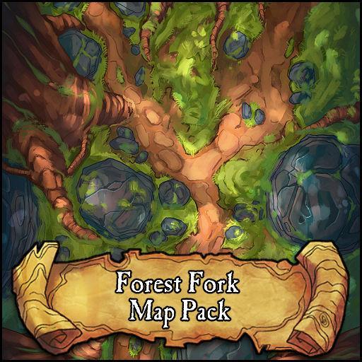 Forest Fork Battlemap