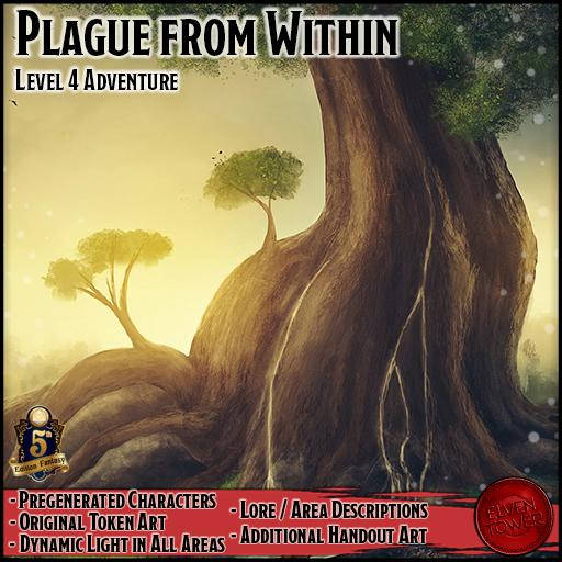 Plague from Within - 5e Level-4 Adventure