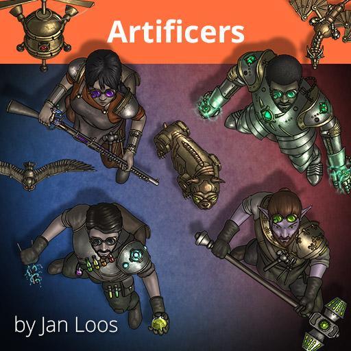 Jans Token Pack 29 - Artificers