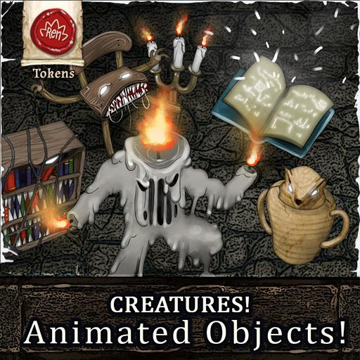 Creatures! Animated Objects (Cursed Manor)