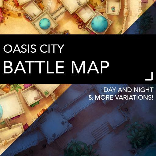 Oasis City Map Pack