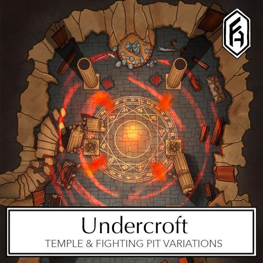Undercroft Battlemap