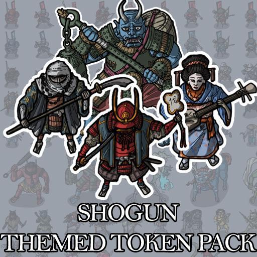 Shogun - Themed Token Pack