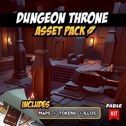 Dungeon Throne - Asset Pack