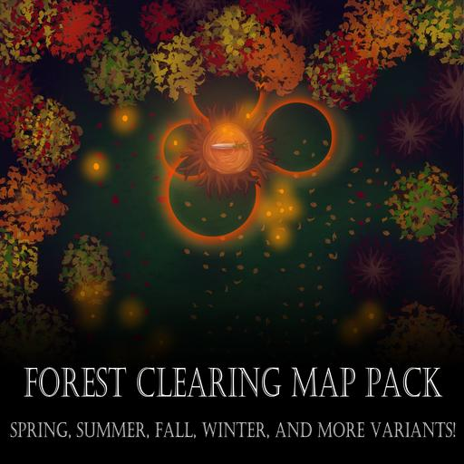 Forest Clearing Map Pack