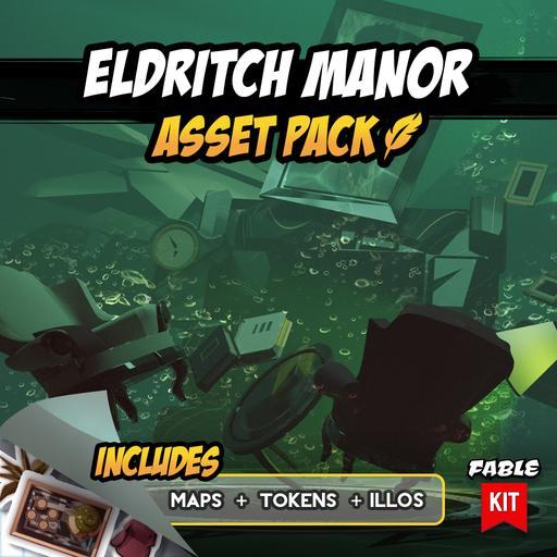 Eldritch Manor - Asset Pack