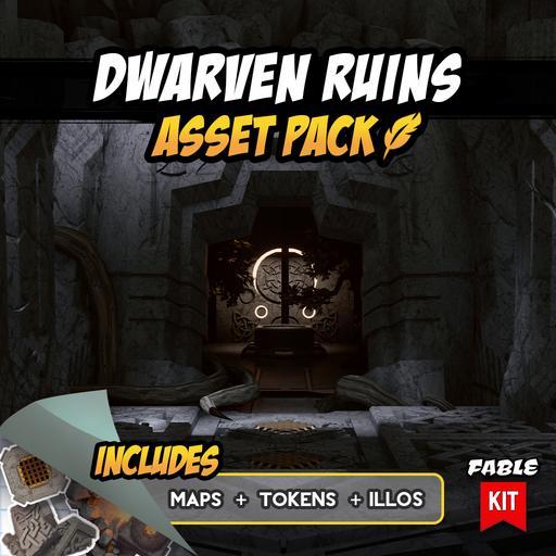 Dwarven Ruins - Asset Pack