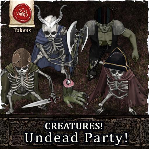 Creatures! Undead Party