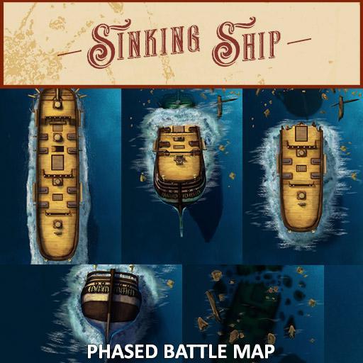 Sinking Ship Battle Map