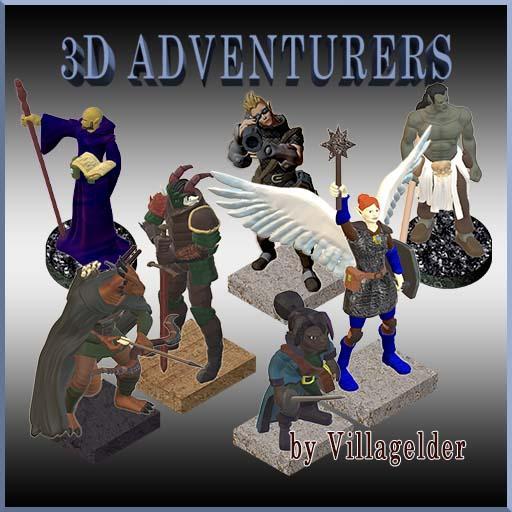 3D Adventurers