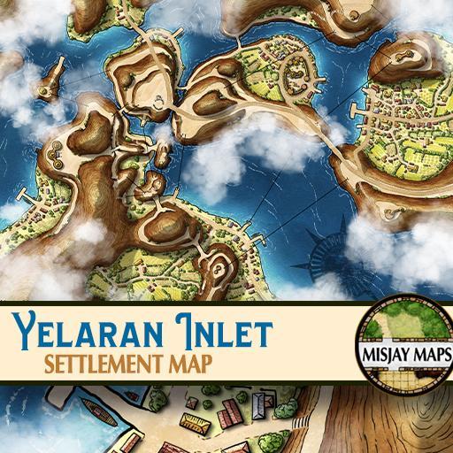 Settlement Map - Yelaran Inlet