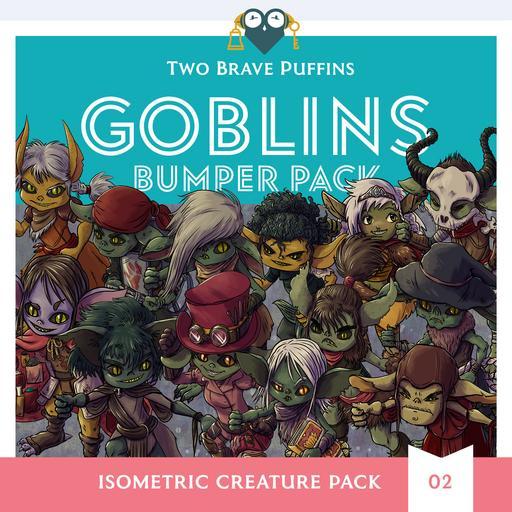 Goblins - Isometric Creature Pack 02
