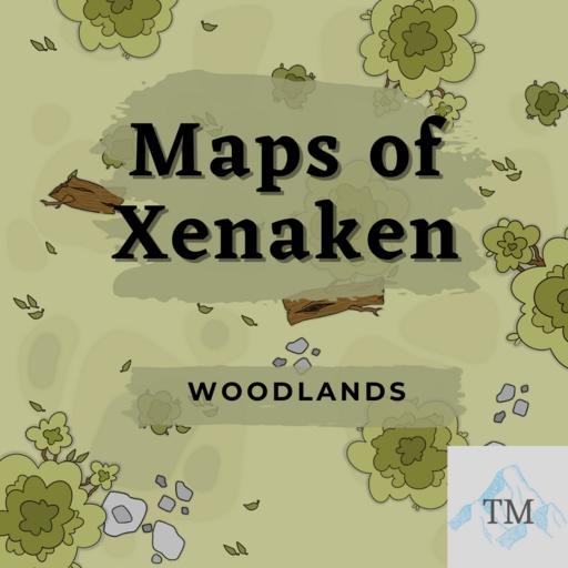 Maps of Xenaken: Woodlands