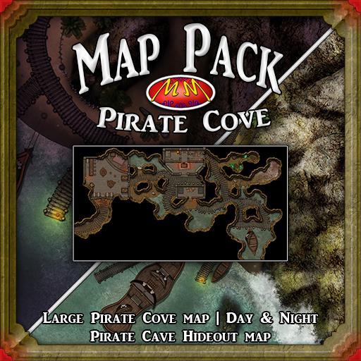 Map Pack | Pirate Cove