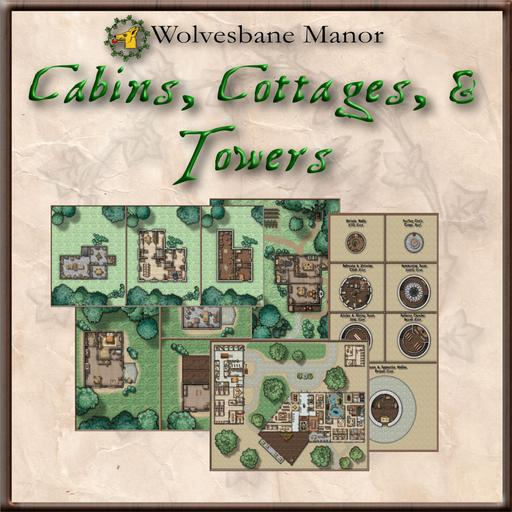 Cabins, Cottages, & Towers