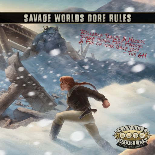 SWADE Compendium with Rollable Tables & Macros Bundle